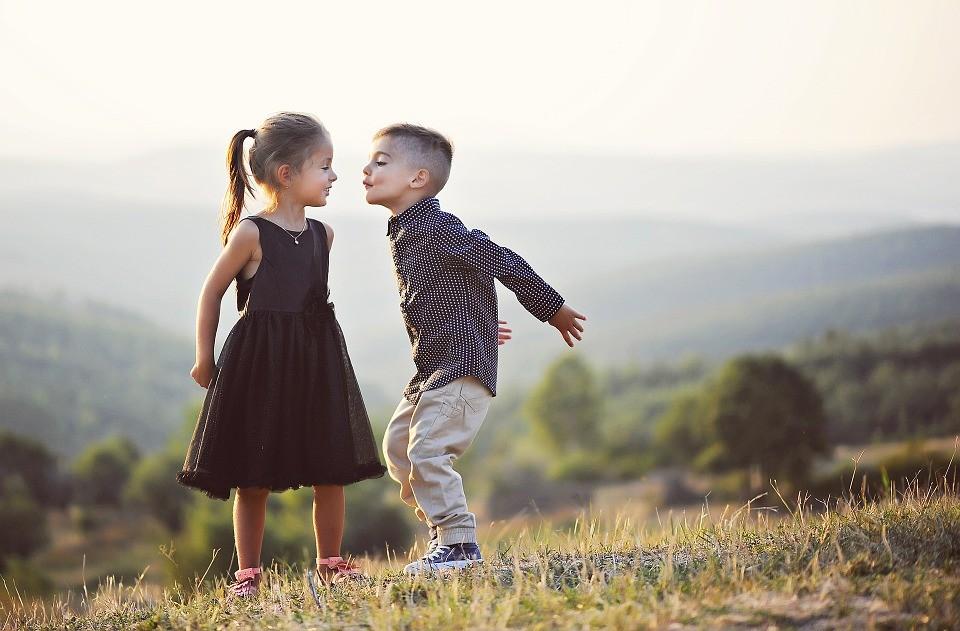 Meisje en jongen Praatjesenzo